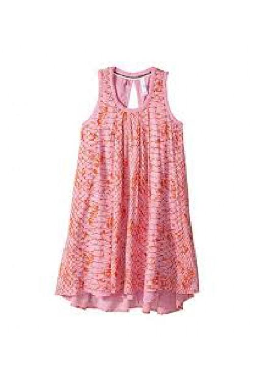 Festival Dress in Coral