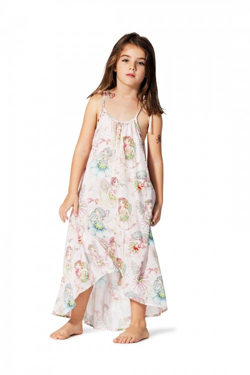 High Low Maxi Dress-Flower Fairies