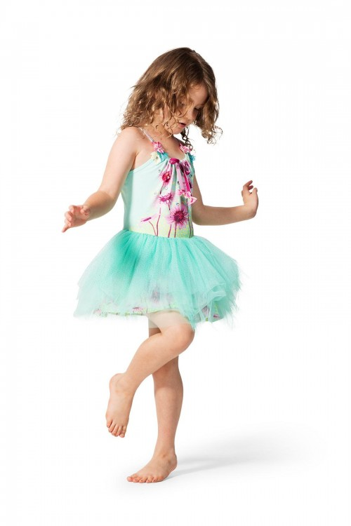 Short Tutu Dress-Magic Garden