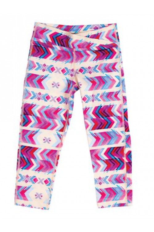 Surfs Up Legging in Pink Aztec