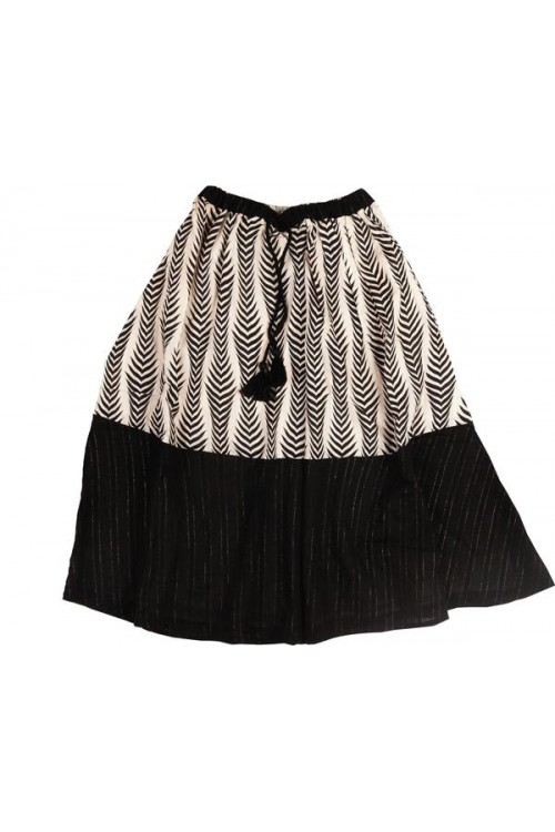 Under The Teepee Maxi Skirt in Black